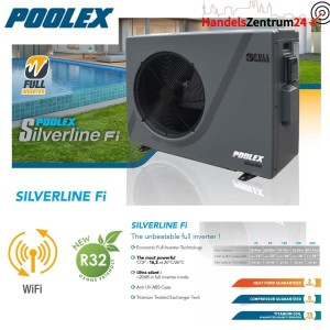 Poolex Silverline Wärmepumpe Full Inverter WIFI...