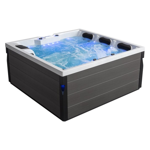 AWT IN-402 eco extreme pro Sterling Silver 200x200x90 grau Whirlpool EAGO HotTub